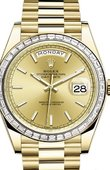 Rolex Day-Date 228398TBR-0007 40 mm Yellow Gold