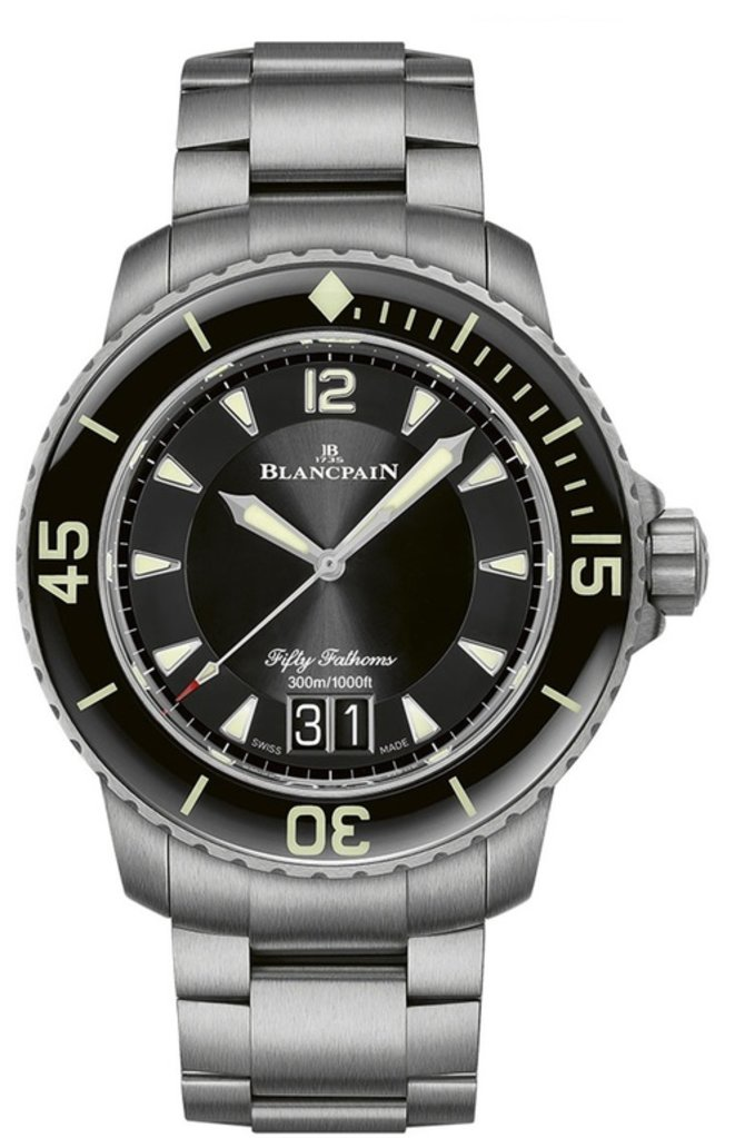 Blancpain 5050-12B30-98 Fifty Fathoms Automatique Grande Date