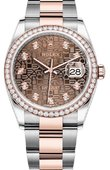 Rolex Datejust Ladies 126281RBR-0014 Rolesor