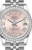 Rolex Datejust Ladies 278384RBR-0028 Jubilee Perpetual 31 mm