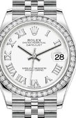 Rolex Datejust Ladies 278384RBR-0014 Jubilee Perpetual 31 mm