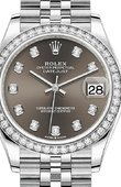 Rolex Datejust Ladies 278384RBR-0010 Jubilee Perpetual 31 mm