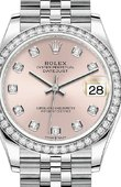 Rolex Datejust Ladies 278384RBR-0036 Jubilee Perpetual 31 mm