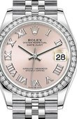 Rolex Datejust Ladies 278384RBR-0024 Jubilee Perpetual 31 mm