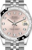 Rolex Datejust Ladies 278344RBR-0034 Jubilee Perpetual 31 mm