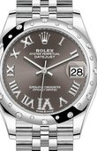 Rolex Datejust Ladies 278344RBR-0030 Jubilee Perpetual 31 mm