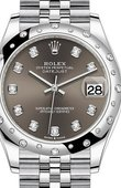 Rolex Datejust Ladies 278344RBR-0008 Jubilee Perpetual 31 mm