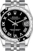 Rolex Datejust Ladies 278344RBR-0002 Jubilee Perpetual 31 mm