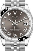 Rolex Datejust Ladies 278344RBR-0024 Jubilee Perpetual 31 mm