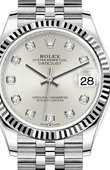 Rolex Datejust Ladies 278274-0030 Jubilee Perpetual 31 mm