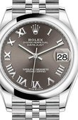 Rolex Datejust Ladies 278240-0016 Jubilee Perpetual 31 mm