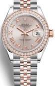 Rolex Часы Rolex Datejust Ladies 279381RBR-0005 Oyster Perpetual 28 mm