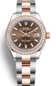 Rolex Часы Rolex Datejust Ladies 279381rbr-0018 Oyster Perpetual 28 mm