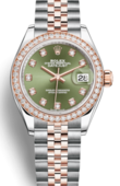 Rolex Часы Rolex Datejust Ladies 279381rbr-0007 Oyster Perpetual