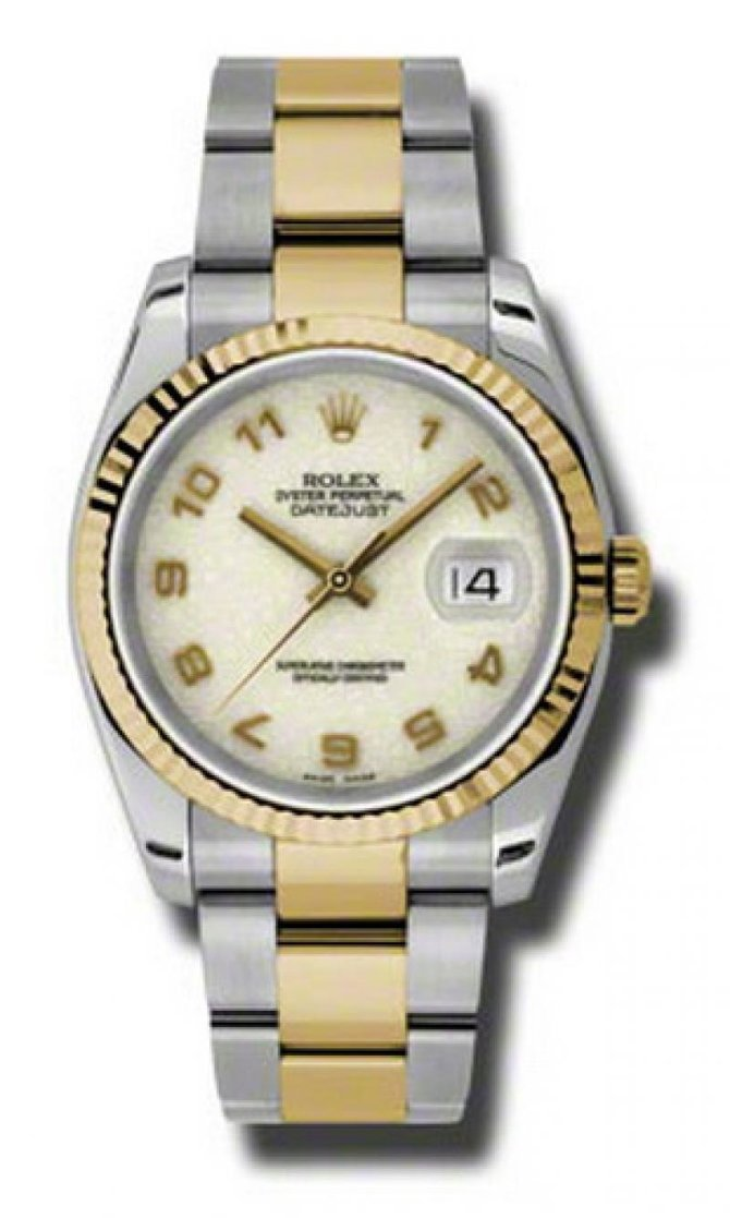 Rolex 116233 ijao Datejust Steel and Yellow Gold - фото 1