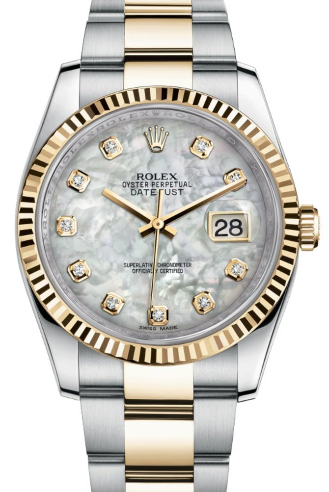 Rolex 116233 mdo Datejust Steel and Yellow Gold