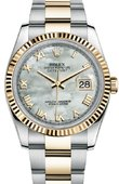 Rolex Datejust 116233 mro Steel and Yellow Gold
