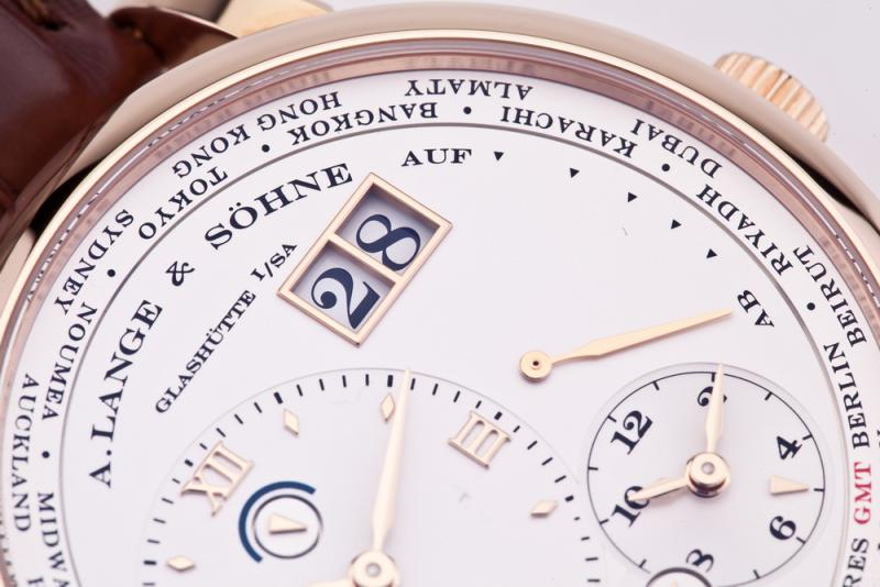 116.032 A.Lange and Sohne 41.9mm Lange 1 Time Zone