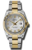 Rolex Datejust 116233 scao Steel and Yellow Gold