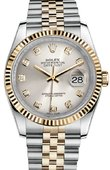 Rolex Datejust 116233 sdj Steel and Yellow Gold