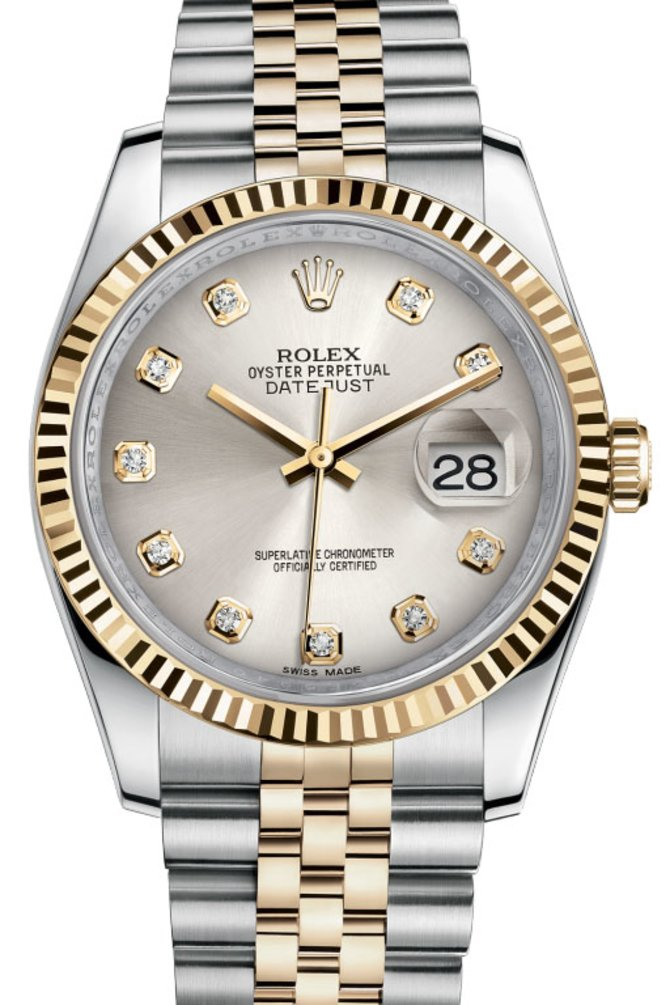 Rolex 116233 sdj Datejust Steel and Yellow Gold