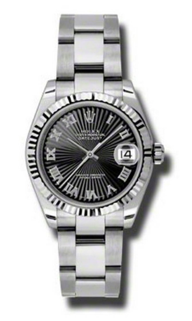 Rolex 178274 bksbro Datejust Ladies Steel and White Gold - фото 1