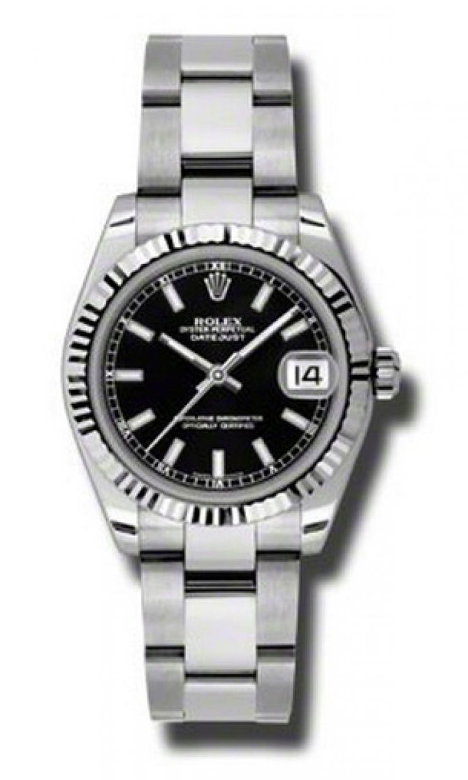 Rolex 178274 bkso Datejust Ladies Steel and White Gold - фото 1