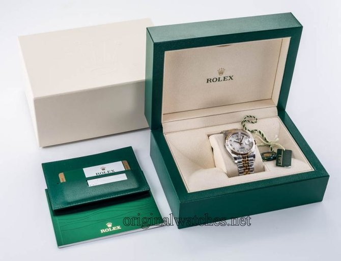Rolex 116233 sjdj Datejust Steel and Yellow Gold - фото 3