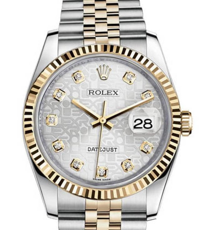 Rolex 116233 sjdj Datejust Steel and Yellow Gold - фото 1