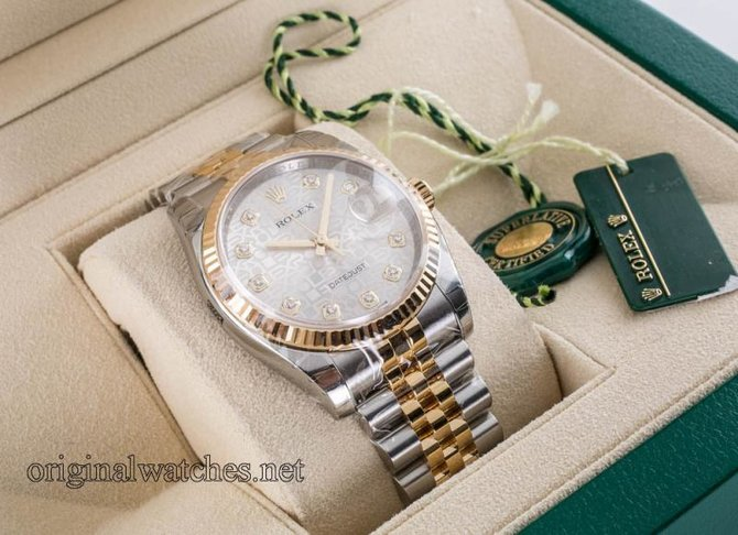 Rolex 116233 sjdj Datejust Steel and Yellow Gold - фото 4
