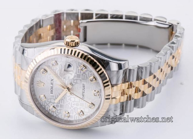 Rolex 116233 sjdj Datejust Steel and Yellow Gold - фото 5