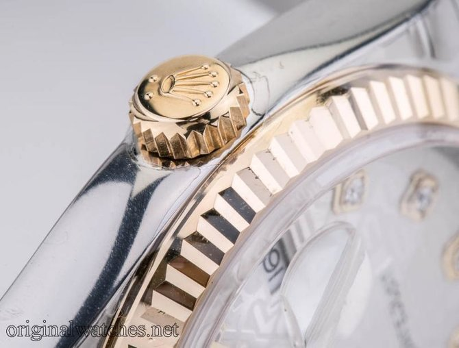 Rolex 116233 sjdj Datejust Steel and Yellow Gold - фото 7