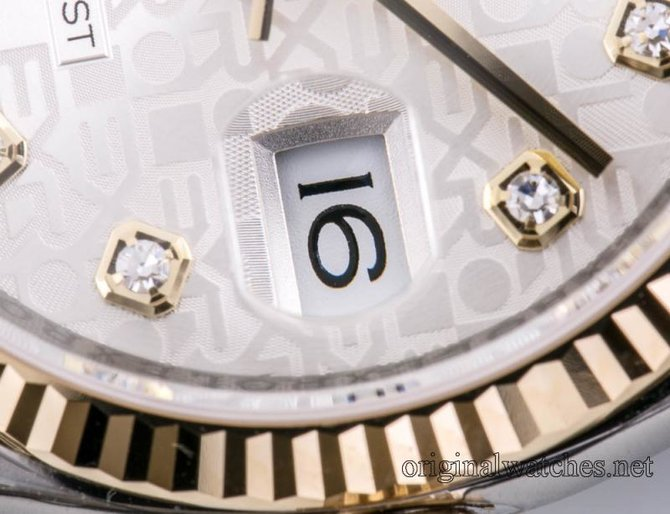 Rolex 116233 sjdj Datejust Steel and Yellow Gold - фото 8