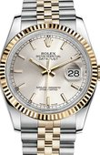 Rolex Datejust 116233 ssj Steel and Yellow Gold