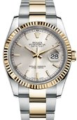 Rolex Datejust 116233 sso Steel and Yellow Gold