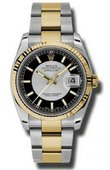 Rolex Datejust 116233 stbkso Steel and Yellow Gold