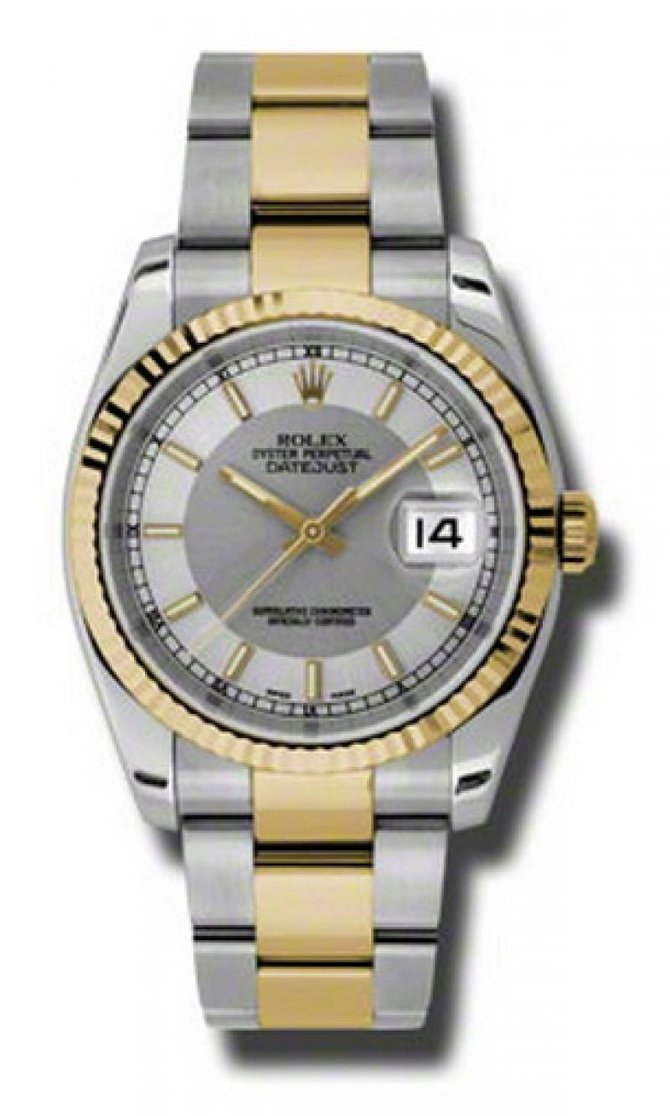 Rolex 116233 stsiso Datejust Steel and Yellow Gold - фото 1