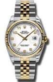 Rolex Datejust 116233 waj Steel and Yellow Gold