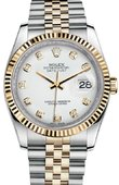 Rolex Datejust 116233 wdj Steel and Yellow Gold