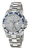 Rolex GMT-Master II 116759SA Pave 40mm White Gold Jewellery