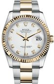 Rolex Datejust 116233 wdo Steel and Yellow Gold