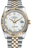 Rolex Datejust 116233 wrj Steel and Yellow Gold
