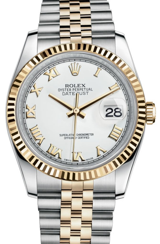 Rolex 116233 wrj Datejust Steel and Yellow Gold - фото 1