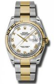 Rolex Datejust 116233 wro Steel and Yellow Gold