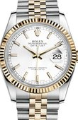 Rolex Datejust 116233 wsj Steel and Yellow Gold