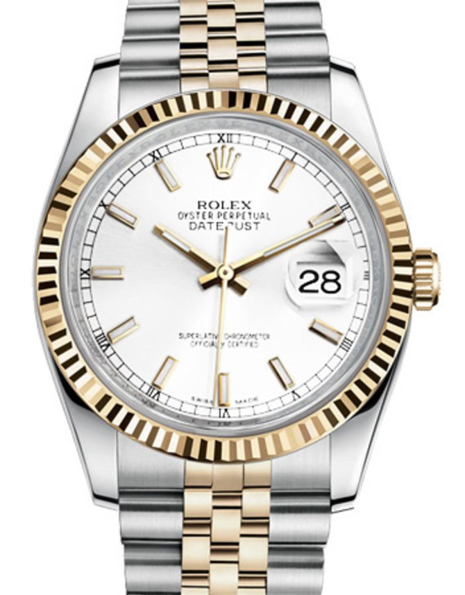 Rolex 116233 wsj Datejust Steel and Yellow Gold - фото 1