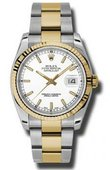 Rolex Datejust 116233 wso Steel and Yellow Gold