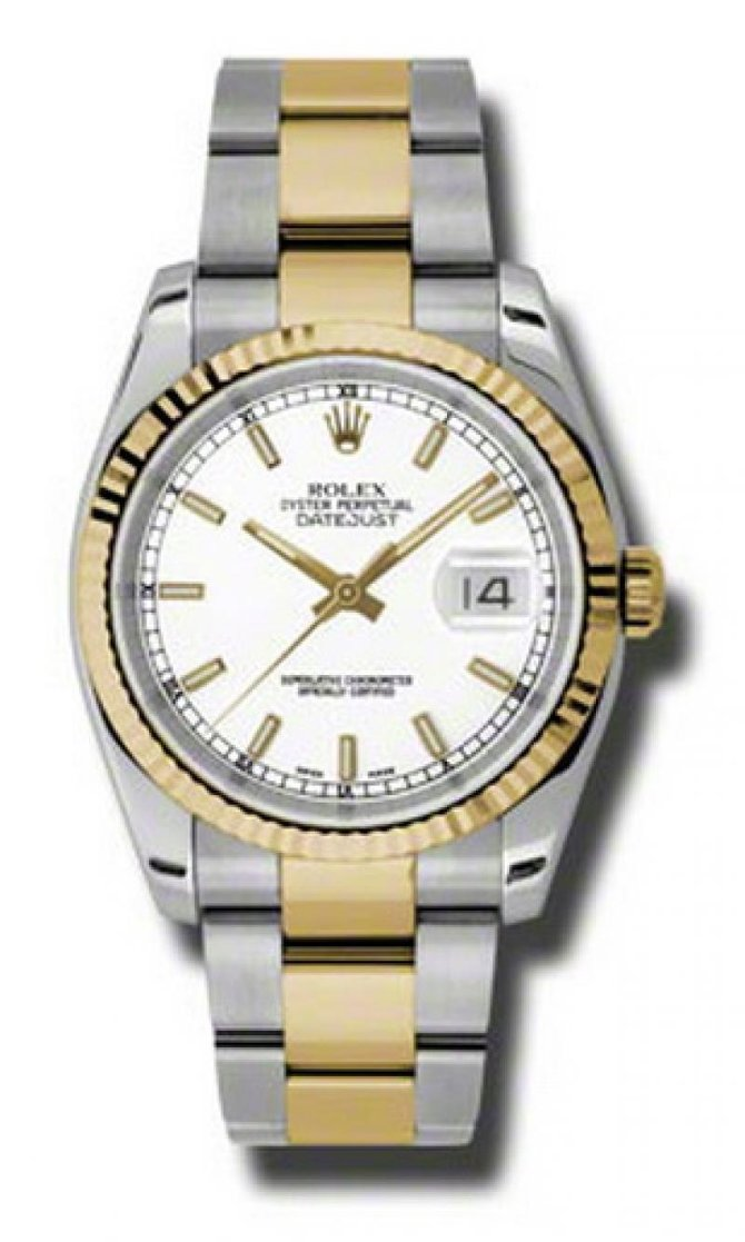 Rolex 116233 wso Datejust Steel and Yellow Gold - фото 1