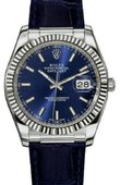Rolex Datejust 116139 blue White Gold