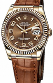Rolex Datejust 116138 bronze Yellow Gold